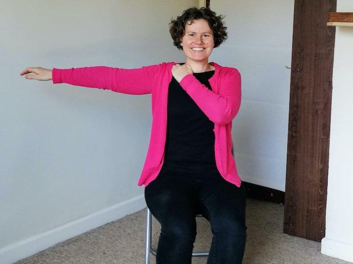 Arm lift shoulder massage