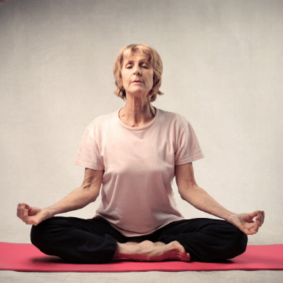 Maintaining focus yoga workshop